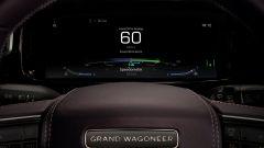Jeep Grand Wagoneer 2022: cruscotto totalmente digitale