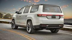 Jeep Grand Wagoneer 2022: il massiccio posteriore