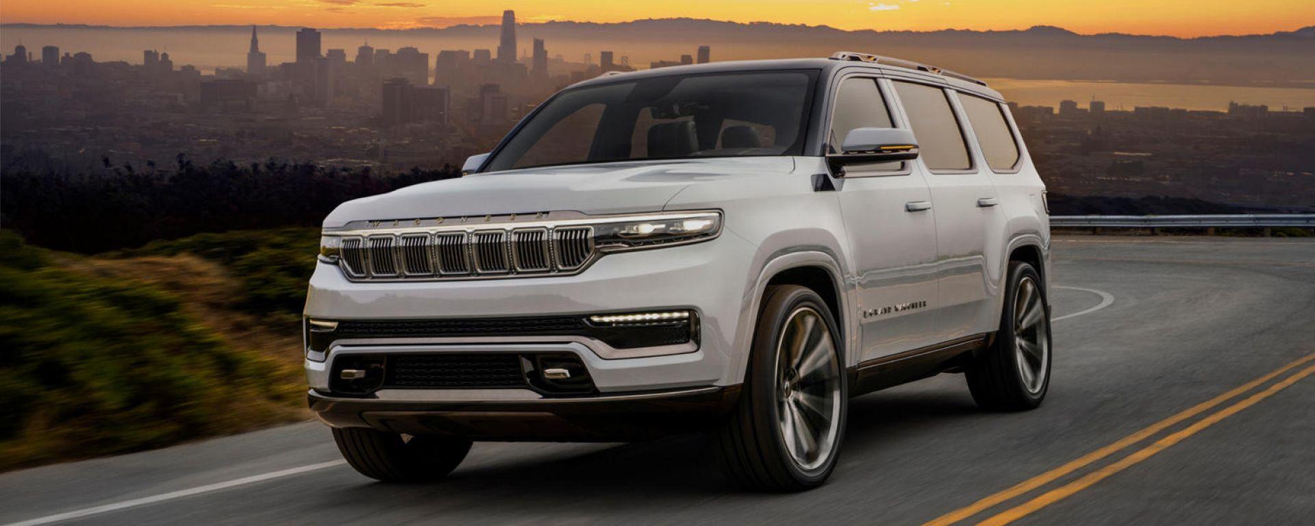 Jeep Grand Wagoneer 2022: il reveal è alle porte
