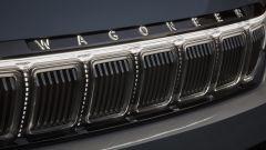 Jeep Grand Wagoneer Concept, la griglia anteriore