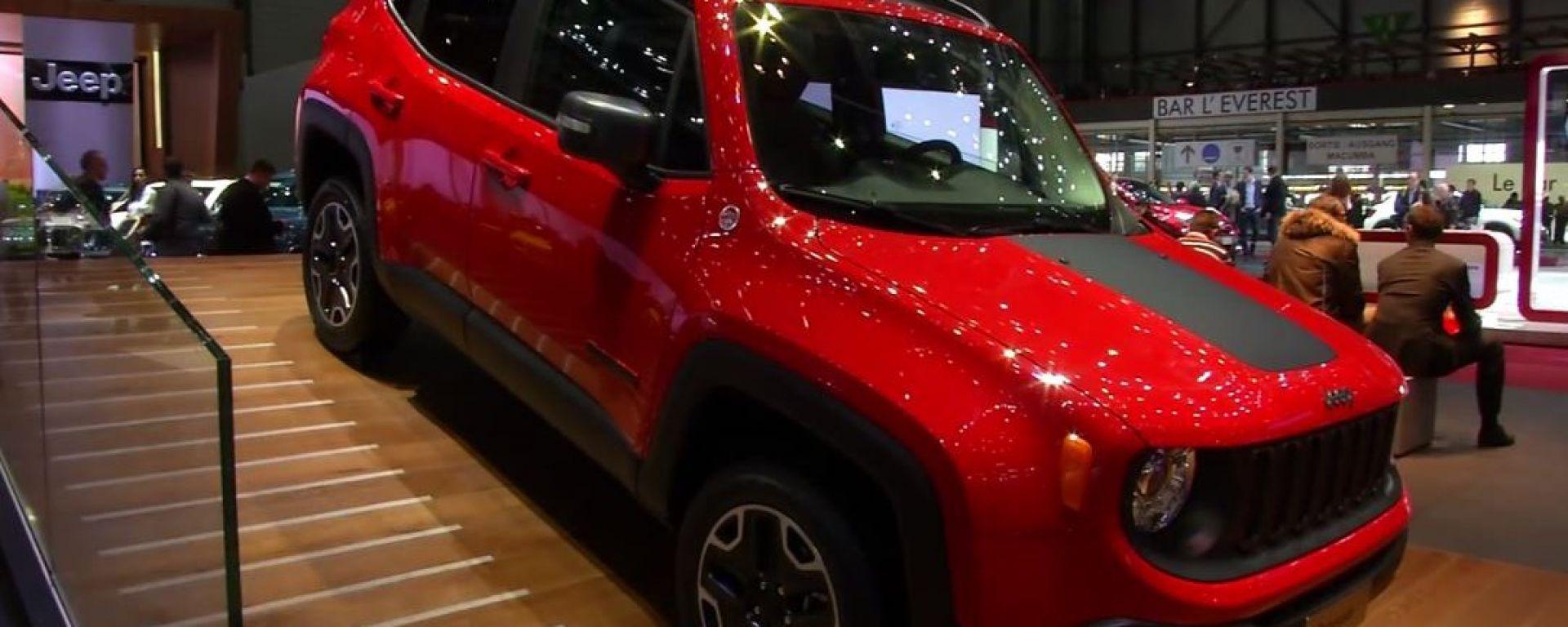 Jeep: il video dallo stand
