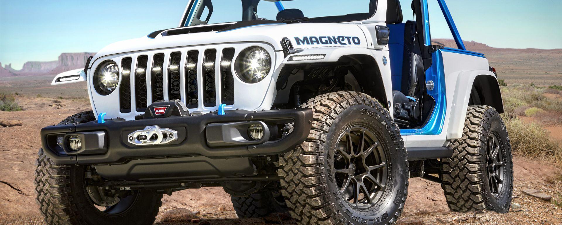 Jeep Magneto, all'Easter Jeep Safari 2021 la concept di Wrangler BEV