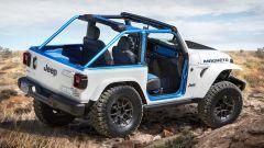 Jeep Magneto, leggasi Wrangler elettrica. Ecco come sarà fatta - Immagine: 2