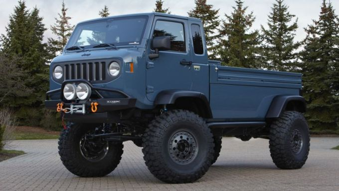 Jeep Mighty F.C. concept