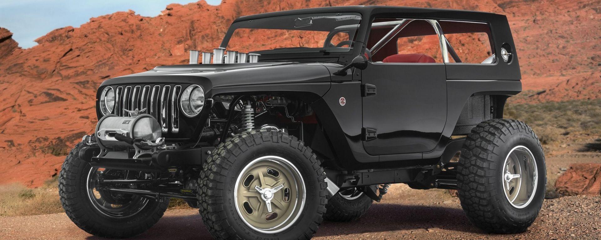 Jeep Quicksand: al Moab una hot road per il deserto