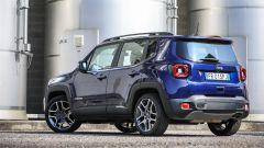Jeep Renegade 2019: cambiano anche le luci di coda