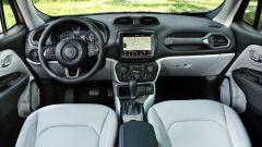 Jeep Renegade 2019: i nuovi interni