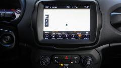 Jeep Renegade 2019: il nuovo infotainment con schermo da 8''