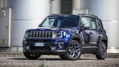 Jeep Renegade 2019: nuovi fari a LED e frontale rivisitato