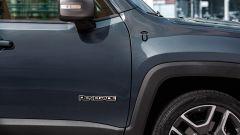 Jeep Renegade 2020: particolare della fiancata