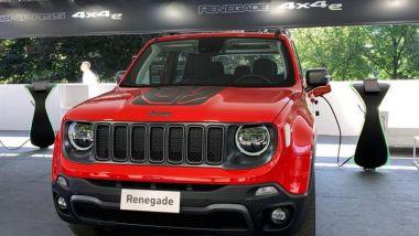 Jeep Renegade 4x4e plug-in hybrid