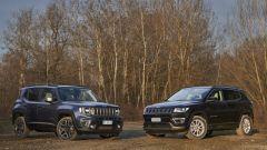 Jeep Renegade 4xe e Jeep Compass 4xe