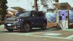Jeep Renegade 4xe in ricarica