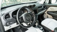 Jeep Renegade 4xe Limited, gli interni