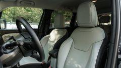Jeep Renegade 4xe Limited, i sedili anteriori