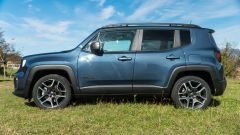 Jeep Renegade 4xe Limited, vista laterale