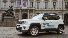 Jeep Renegade 4xe per il progetto Geofencing Lab