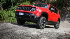 Jeep Renegade 4xe (Plug-in Hybrid), anche proprietà off-road da vero fuoristrada