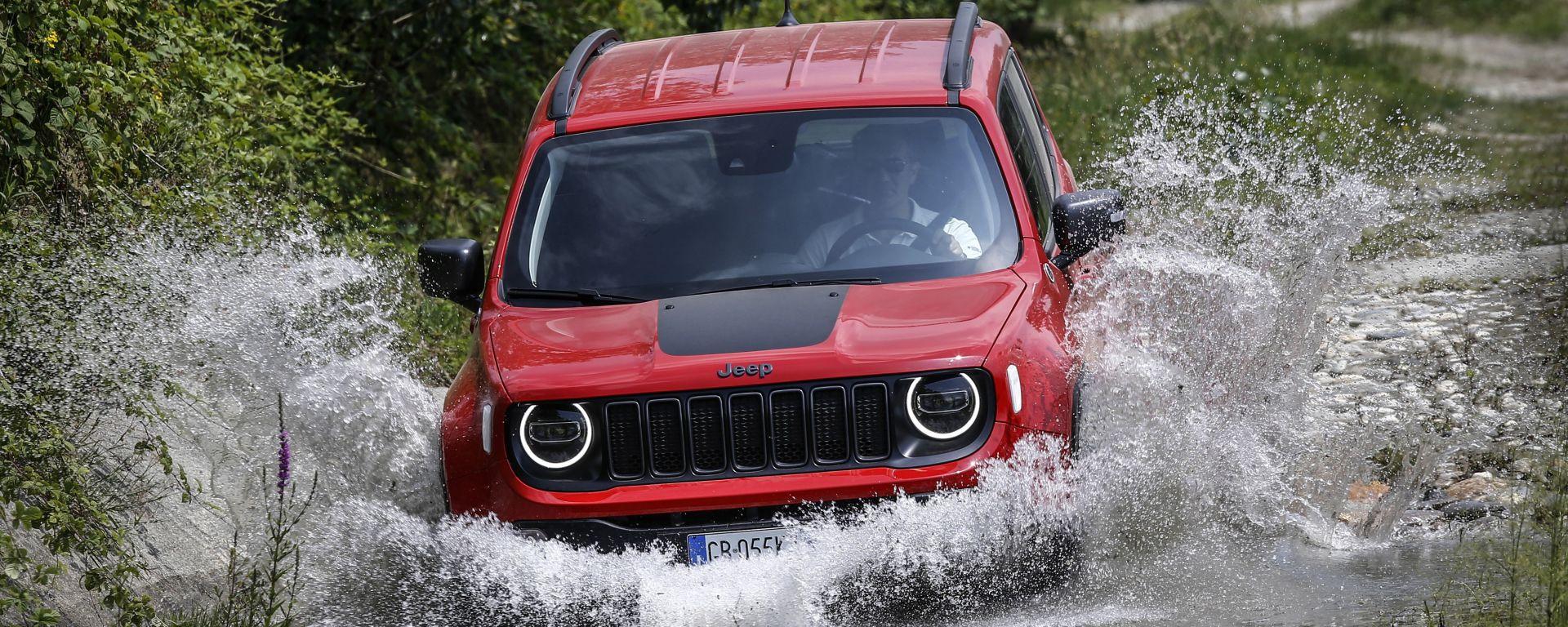 Jeep Renegade 4xe Trailhawk: test di guado