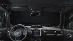 Jeep Renegade allestimento S: particolare degli interni