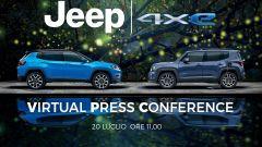 Jeep Renegade e Compass 4xe: la presentazione live