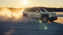 Jeep Renegade elettrica: il test del prototipo GKN