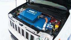 Jeep Renegade Elettrica by GKN: il vano motore