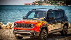 Jeep Renegade Hell's Revenge: fuoco e fiamme sulla livrea, che ha un trattamento particolare