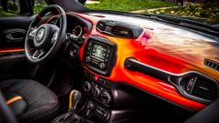 Jeep Renegade Hell's Revenge: gli interni