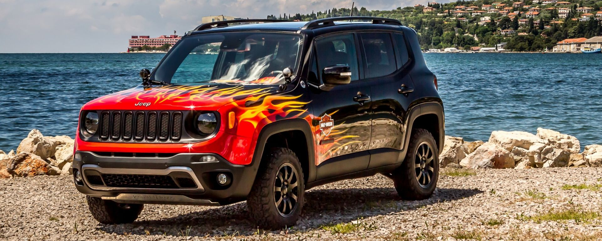 Jeep Renegade Hell's Revenge: una show car firmata Garage Italia Customs