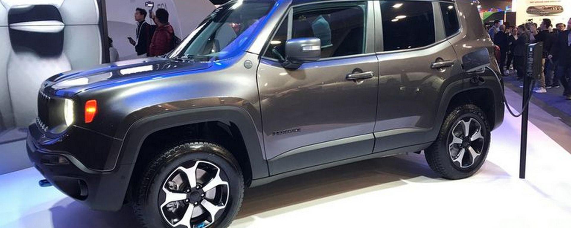 Jeep Renegade ibrida plug-in, anteprima USA al CES 2020