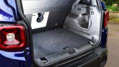 Jeep renegade: il vano di carico