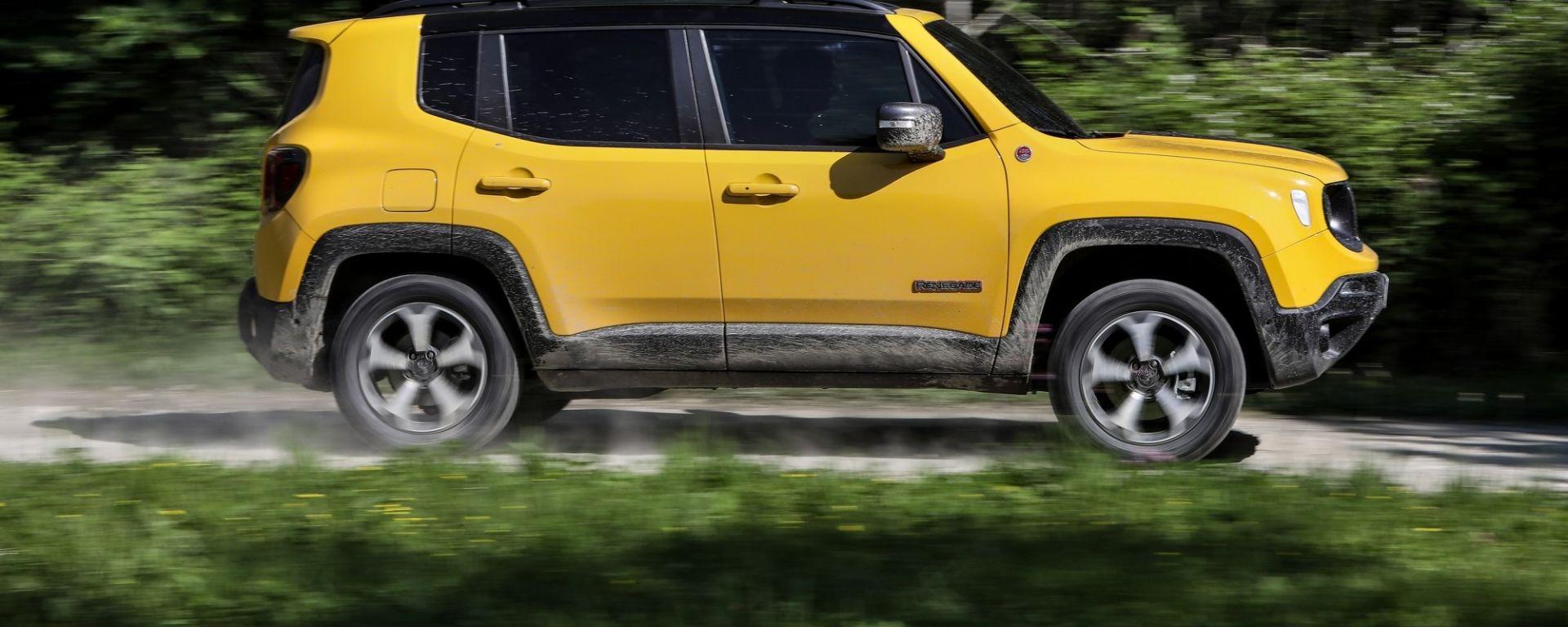 Jeep Renegade, in cantiere la versione plug-in hybrid