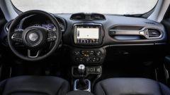 Jeep Renegade: la plancia del SUV compatto americano