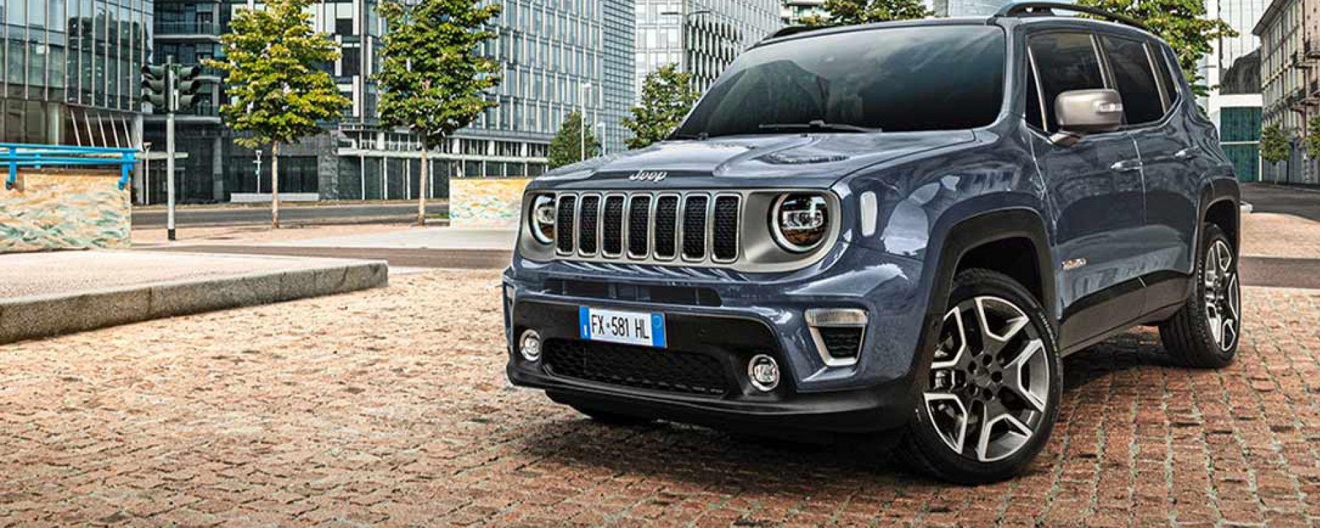 Jeep Renegade, la promo dell'autunno 2019