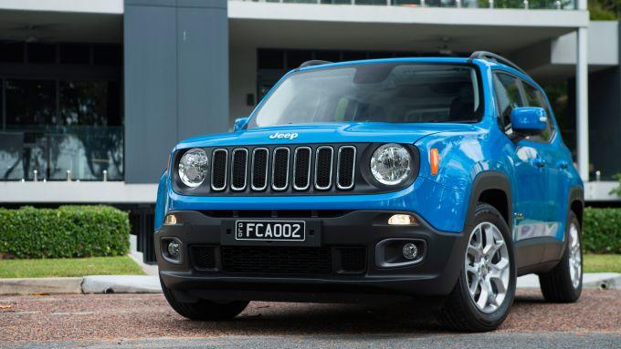 Jeep Renegade: la versione pre-restyling