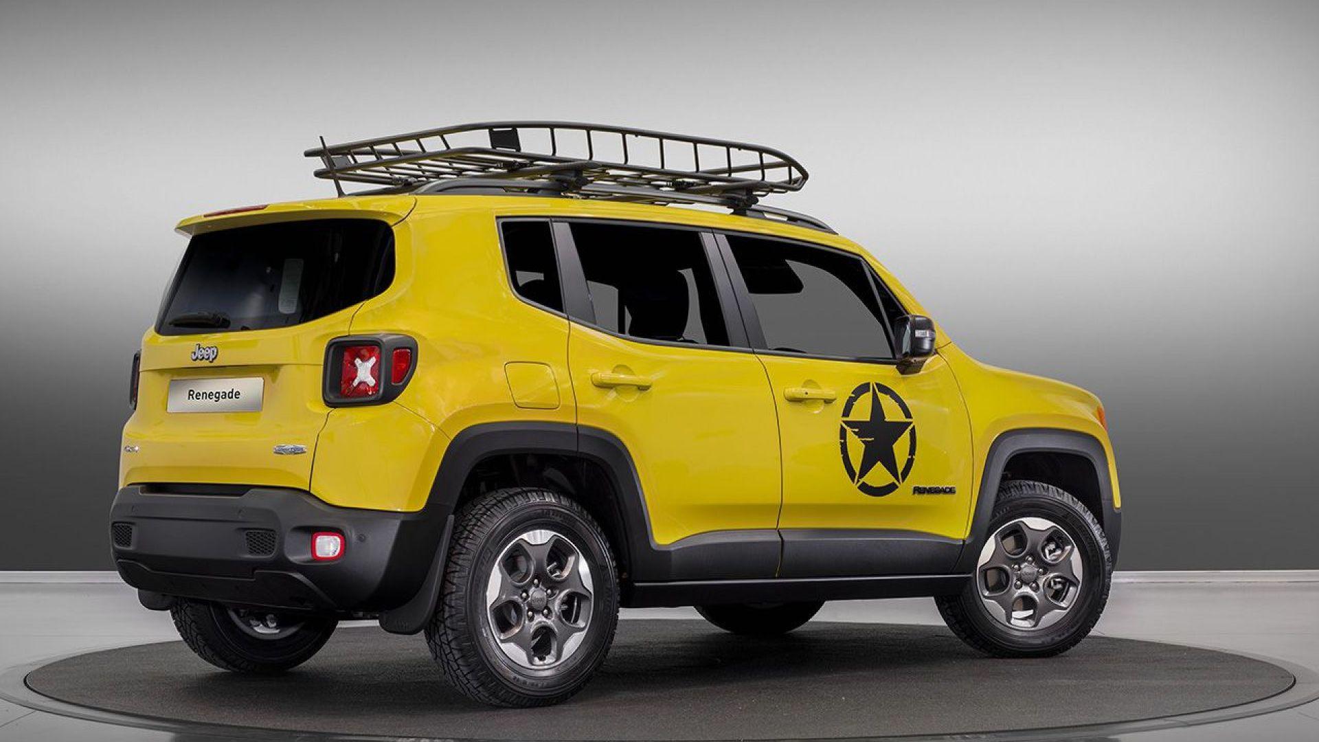 Salone Di Parigi 2016 Jeep Renegade Moparizzata Motorbox
