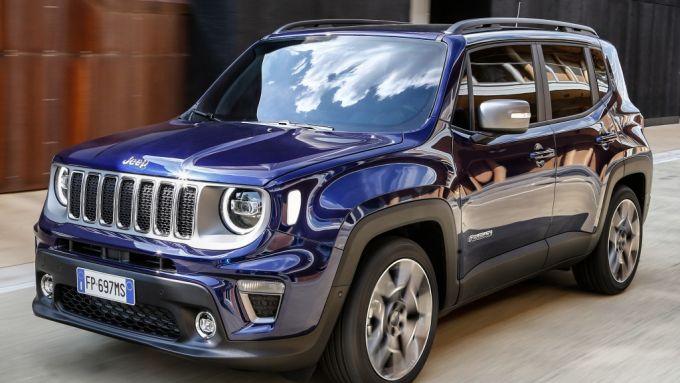 Jeep Renegade: motori turbo a benzina e diesel da 120 CV