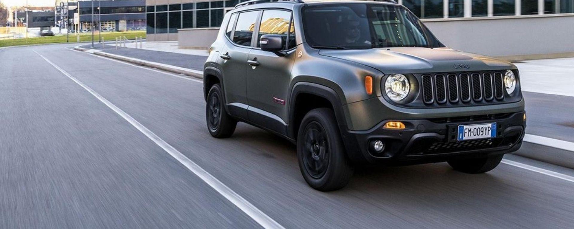 Jeep Renegade MY19. Avrà il Telepass integrato?