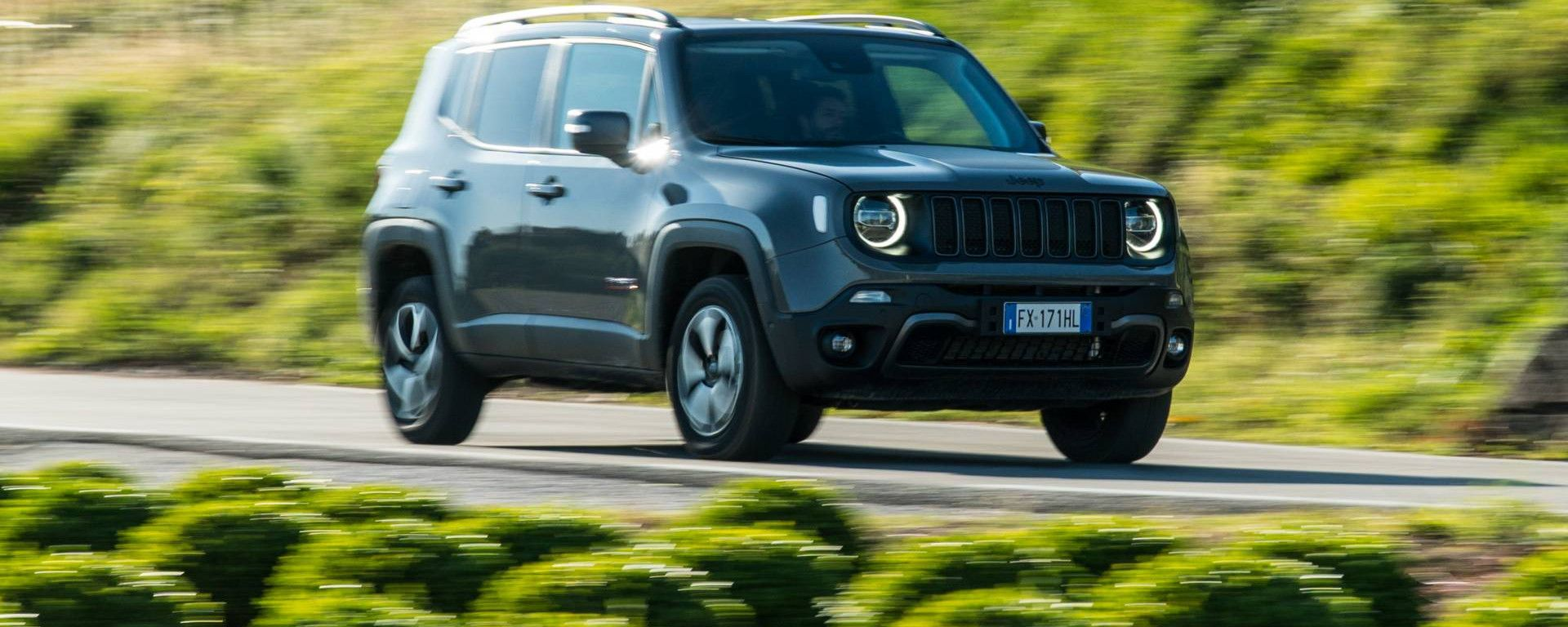 Jeep Renegade: nuova, con finanziamento, km 0, usata o noleggio a lungo termine.