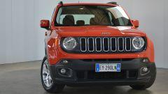 Jeep Renegade: ottima la resa della vernice e delle parti in plastica nera