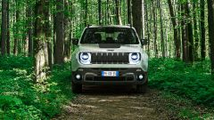 Jeep Renegade plug-in: visuale frontale