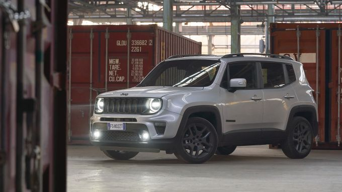 Jeep Renegade S, vista laterale
