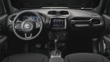 Jeep Renegade S, gli interni