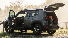 Jeep Renegade Trailhawk abitabilità 5 porte