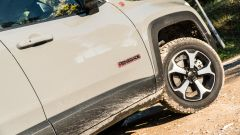 Jeep Renegade Trailhawk altezza da terra