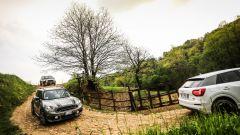 Jeep Renegade Trailhawk vs Audi Q2 S tronic quattro vs Mini Countryman Cooper SD All4 - Immagine: 6