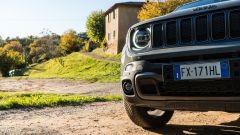 Jeep Renegade Trailhawk dettaglio paraurti