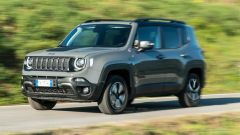 Jeep Renegade Trailhawk dinamica 3/4 frontale