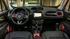 Jeep Renegade Trailhawk: gli interni